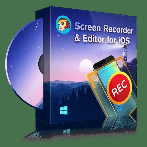 DVDFab_screen_recorder&editor&_for_ios full screenshot