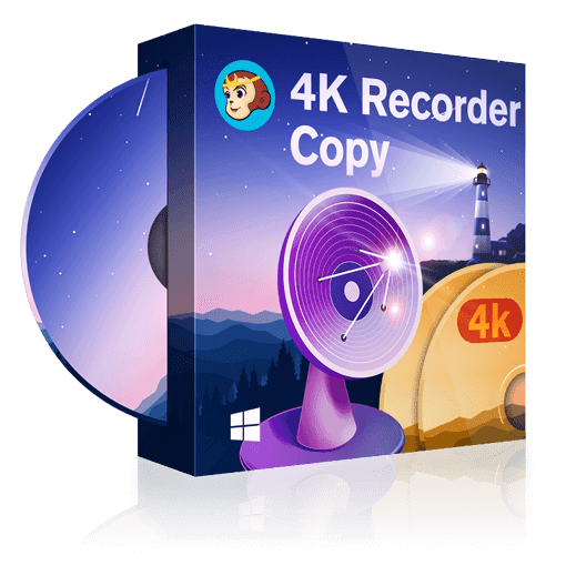 DVDFab 4K Recorder Copy