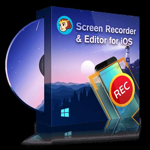 DVDFab Screen Recorder & Editor for iOS