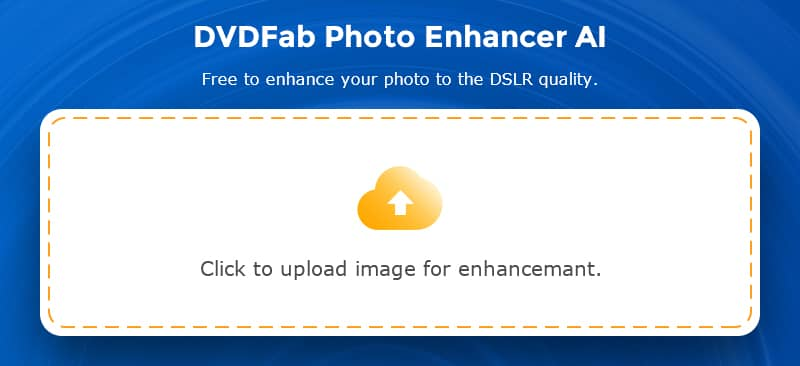 DVDFab Photo Enhancer AI