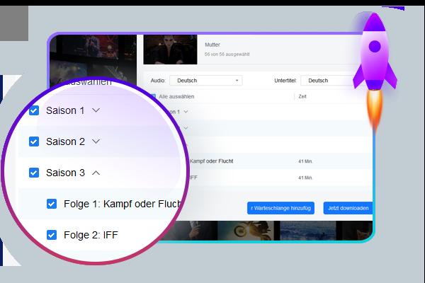 Downloadet mehrere AbemaTV Streaming Videos schnell und einfach