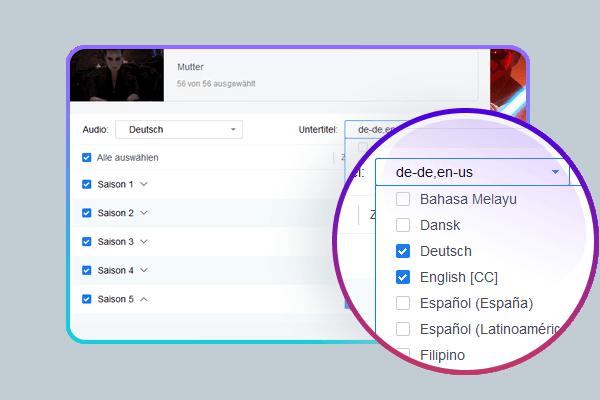 Der beste Streaming Downloader für den Batch-Download & Auto-Download von Veröffentlichungen