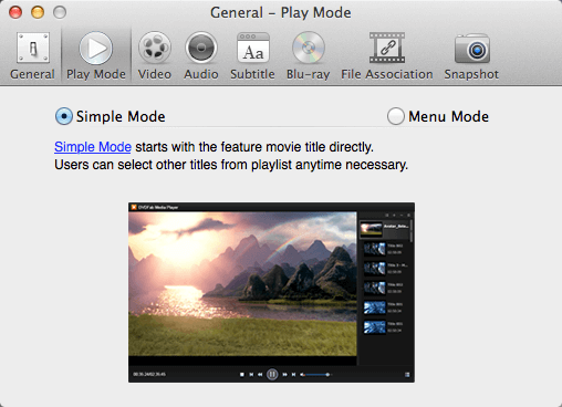 Screenshot 1 des DVDFab Media Players
