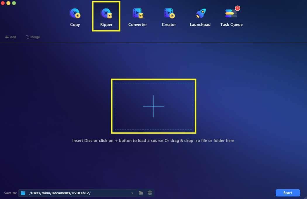 dvdfab blu-ray ripper for Mac guide 1