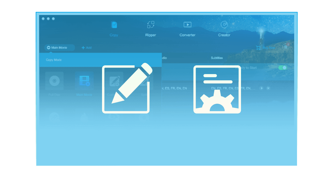 dvdfab hd decrypter for Mac feature 2