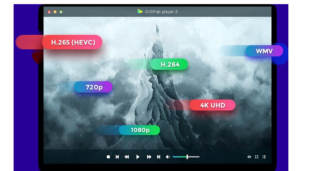 dvdfab media player feature