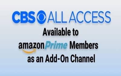 CBS All Access Amazon Prime