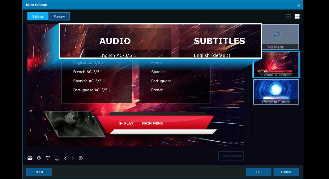 dvdfab blu-ray creator fonctionnalité 2