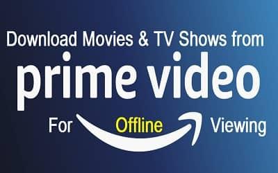 télécharger vidéo amazon