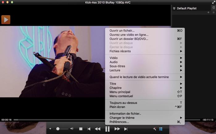 dvdfab media player capture d'écran 2