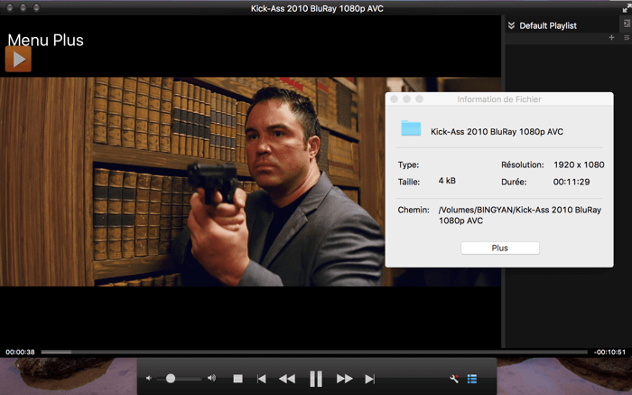 dvdfab media player capture d'écran 3