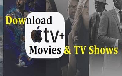 apple tv+ ダウンロード