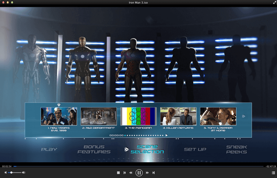 DVDFab メディア プレーヤー スクリーンショット 4