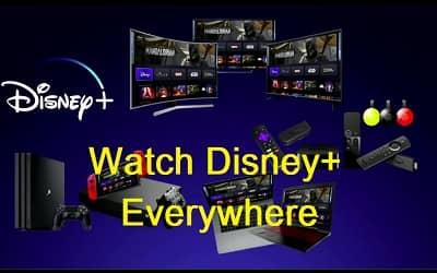 Disney線下觀看