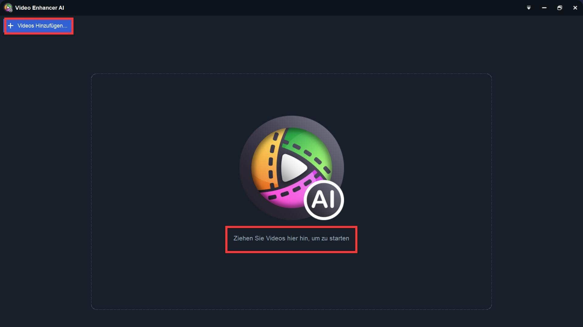 Video Enhancer AI Anleitung 1