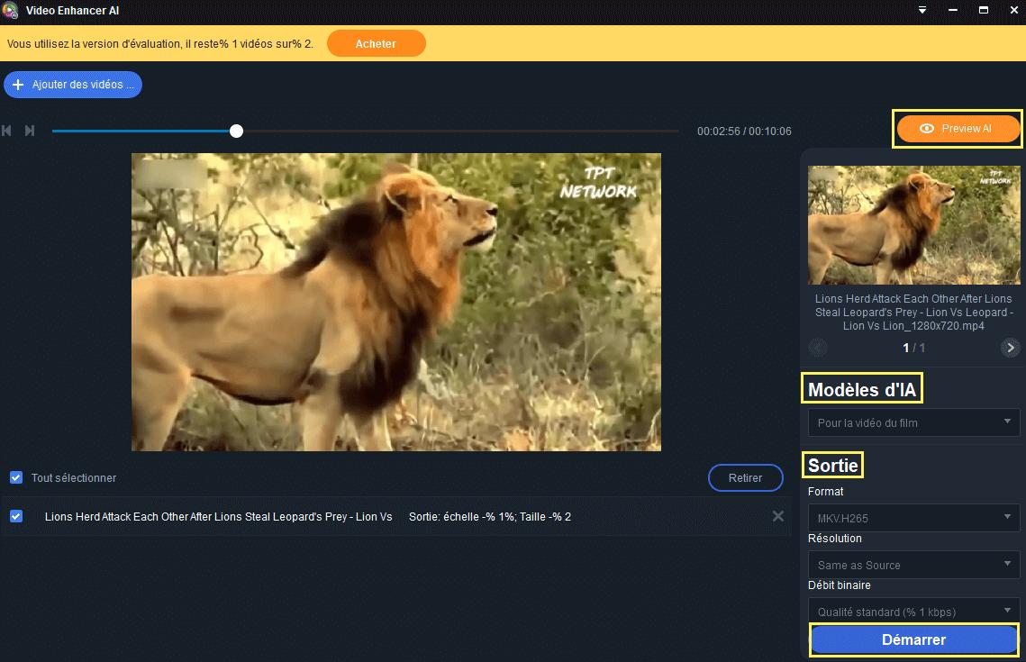 Video Enhancer AI guide 2
