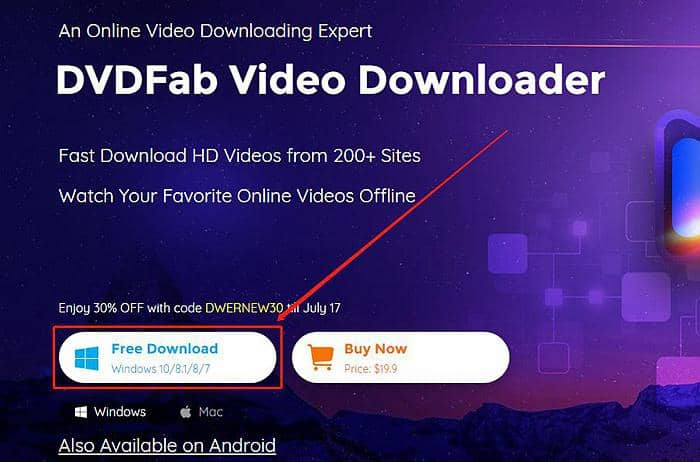 Facebook video Downloader Chrome
