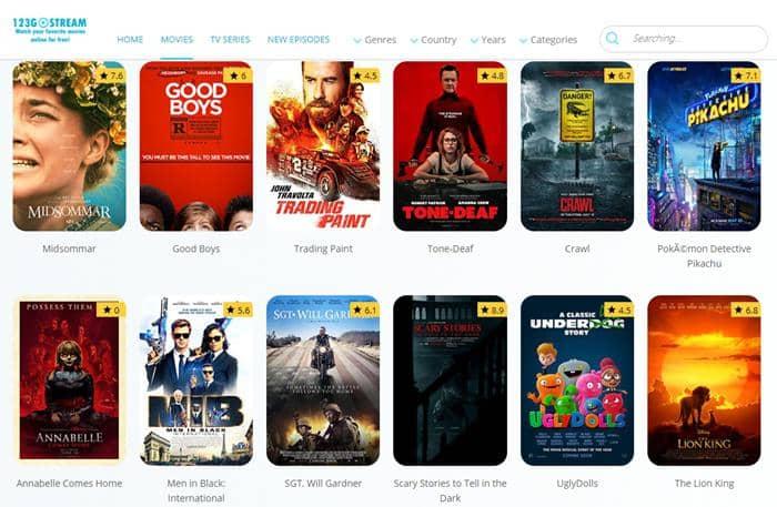 1080p movie site - 123GOStream