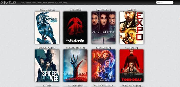 Watch 1080p movies online free on Xpau.se