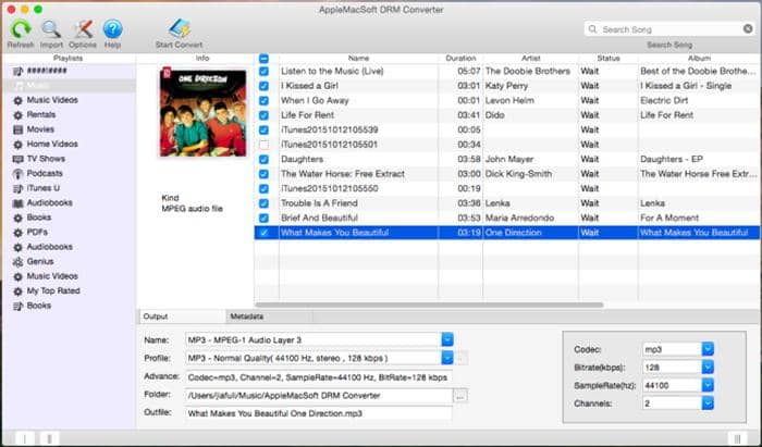 Remove DRM from MP3 on Windows and Mac
