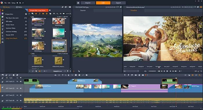 4k video editing software