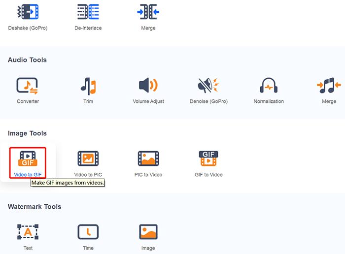 Convert AVI to GIF with DVDFab Toolkit