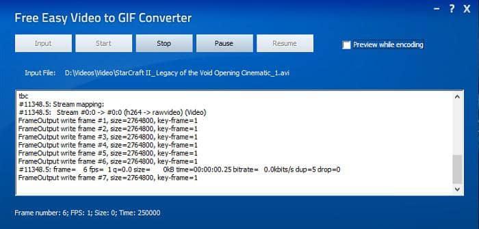convert avi to gif windows