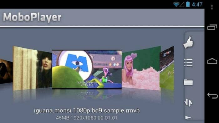 avi player for android