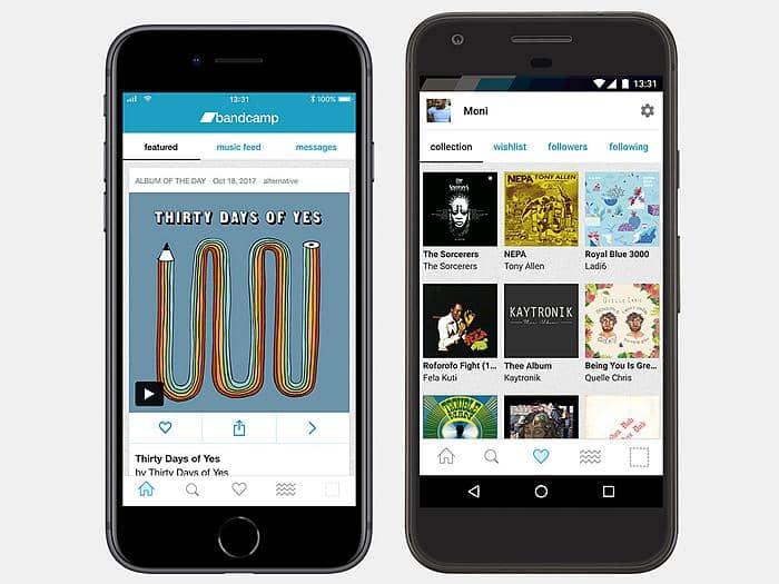 Bandcamp downloader Apps