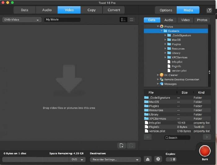 Blu ray burning software for Mac Users