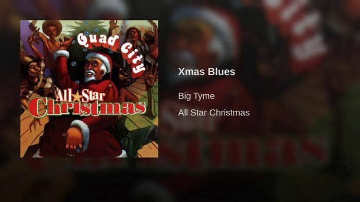 blues christmas song