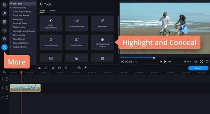Blurred Background Video App - iMovie