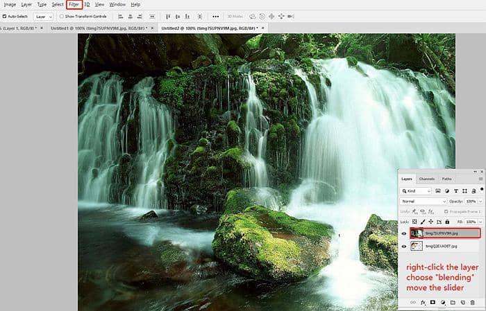 Blur Video Background in PhotoShop