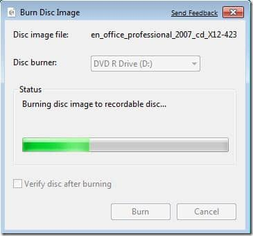 Burn mp4 to dvd