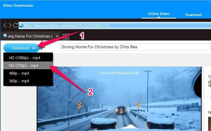 download youtube christmas songs to mp4
