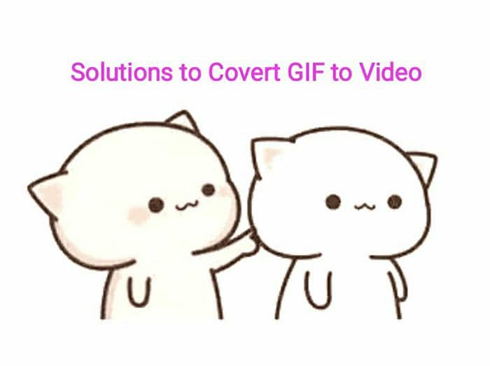Convert Gif to Video on iphone