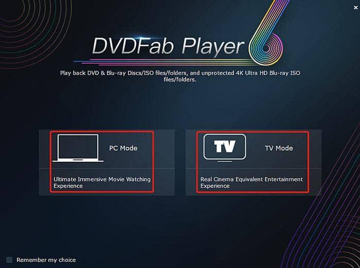 Best 4K UHD Blu-ray Player: DVDFab Player 6