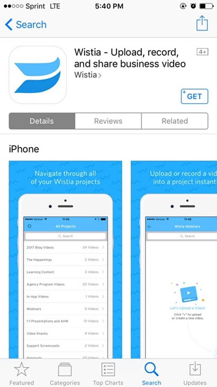 Download Wistia Video with Mobile App