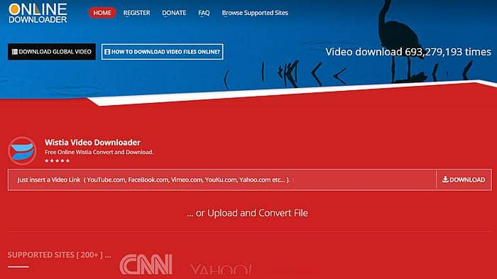 Online Downloader to Download Wistia Videos