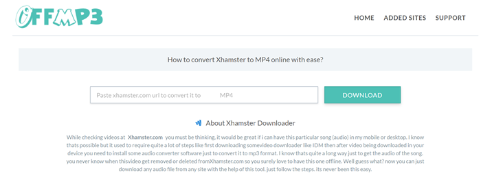 Xhamster porn video downloader