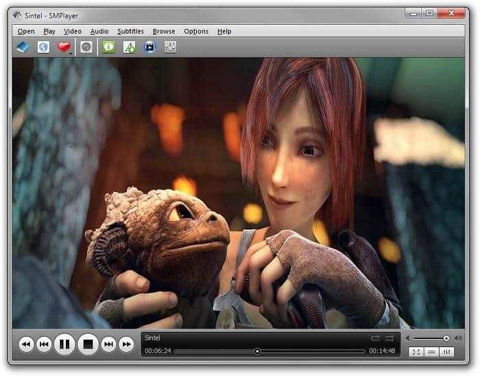a free media player designed for windows OS
