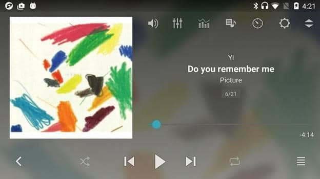 free mp3 player for android