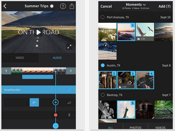 free video editing software for ios
