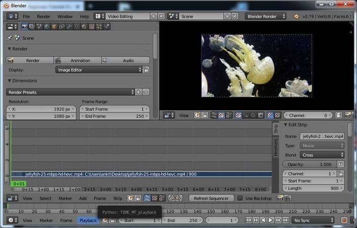 Open-source and Free no Watermark Video Editor for All
