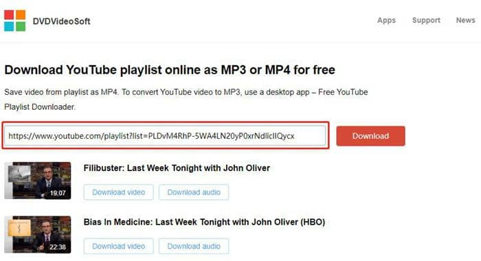 Download YouTube playlist downloader online quickly and free