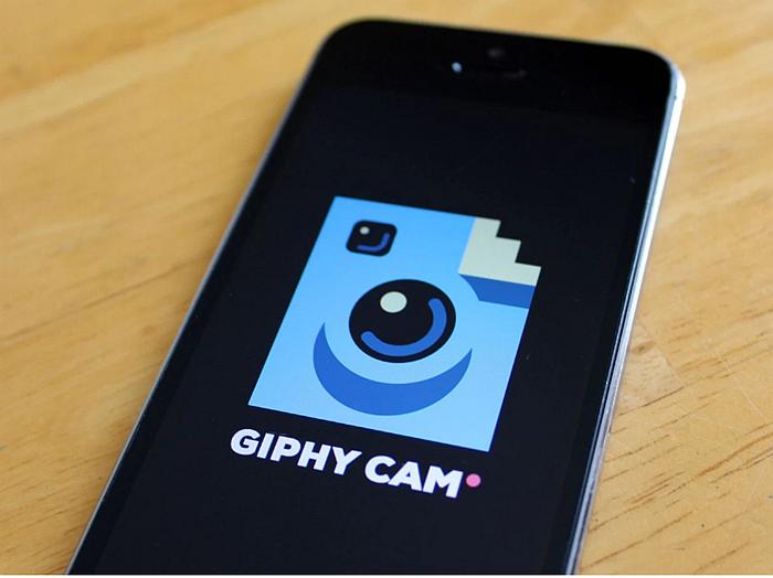 Gif maker app - giphy cam