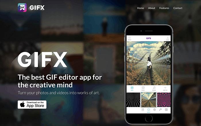 GIFX- the best free gif maker app