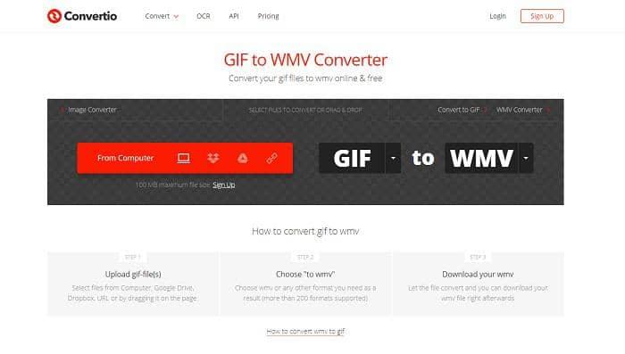 convert gif to wmv