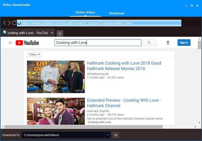 download hallmark movies from youtube