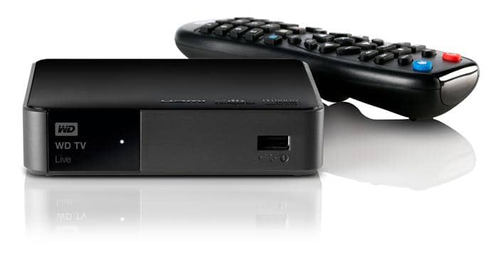 convert blu-ray to wd tv live